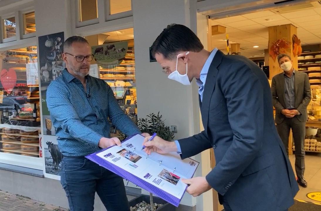Ed Boele en minister president Mark Rutte.jpg